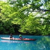 5月29日 四万湖カヌーツアー ちひろのイメージ