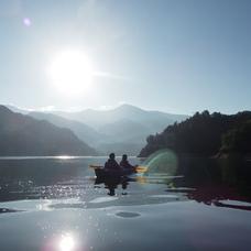 バーチャル背景画像 奈良俣湖のイメージ