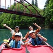 5月17日 四万湖カヌーツアー ぶっさんのイメージ