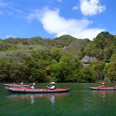 バーチャル背景画像 藤原湖のイメージ