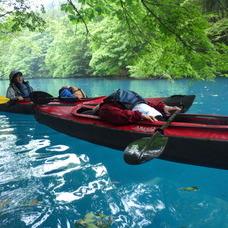 5月31日 四万湖カヌーツアー ちひろのイメージ