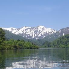 バーチャル背景画像 奥利根湖のイメージ