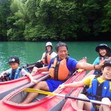 6月25日 四万湖カヌーツアー RYUのイメージ