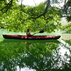 6月28日 四万湖カヌーツアー ちひろのイメージ