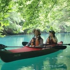 6月11日四万湖カヌーツアー のりPのイメージ