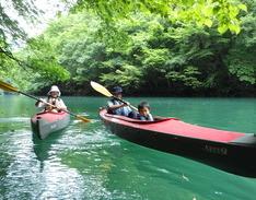 7月3日 四万湖カヌーツアー ぶっさんのイメージ