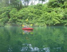 7月5日 四万湖カヌーツアー RYUのイメージ