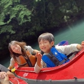 7月13日 四万湖カヌーツアー ちひろのイメージ
