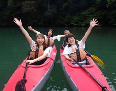 7月3日 四万湖カヌーツアー ちひろのイメージ
