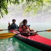 7月7日 四万湖カヌーツアー ぶっさんのイメージ