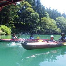 8月20日 四万湖カヌーツアー RYUのイメージ