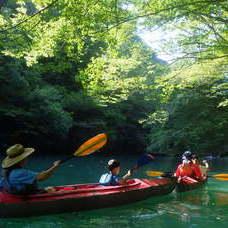 8月17日 四万湖カヌーツアー RYUのイメージ