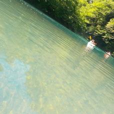 8月11日 四万湖カヌーツアー ちひろのイメージ