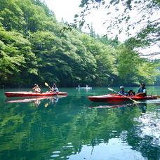 8月6日 四万湖カヌーツアー ぶっさんのイメージ