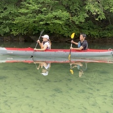8月1日 四万湖カヌーツアー ちひろのイメージ