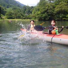 8月29日 四万湖カヌーツアー RYUのイメージ