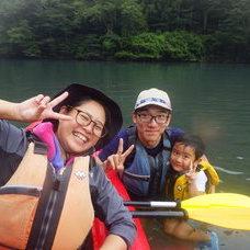 8月10日 四万湖カヌーツアー RYUのイメージ