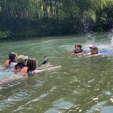 8月27日 四万湖カヌーツアー ちひろのイメージ