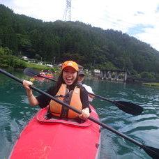 8月1日 四万湖カヌーツアー RYUのイメージ