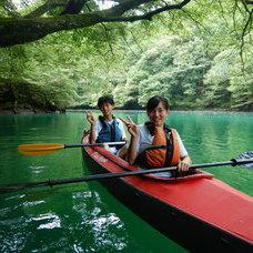 9月8日 四万湖カヌーツアー ぶっさんのイメージ