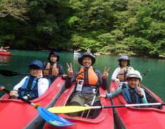 9月21日 四万湖カヌーツアー RYUのイメージ
