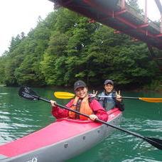 9月7日 四万湖カヌーツアー RYUのイメージ