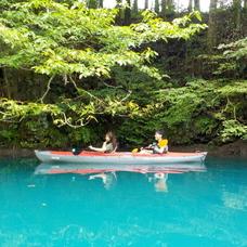 9月18日 四万湖カヌーツアー ちひろのイメージ