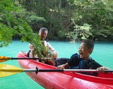 9月22日 四万湖カヌーツアー RYUのイメージ