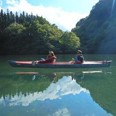 10月12日 四万湖カヌーツアー ぶっさんのイメージ