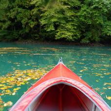 10月9日 四万湖カヌーツアー ちひろのイメージ