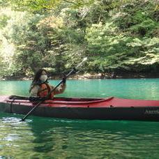 10月18日 四万湖カヌーツアー けんたろうのイメージ