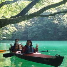10月2日 四万湖カヌーツアー けんたろうのイメージ