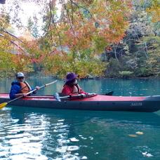 10月31日 四万湖カヌーツアー ちひろのイメージ