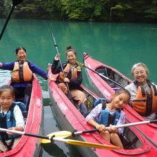 10月3日 四万湖カヌーツアー RYUのイメージ