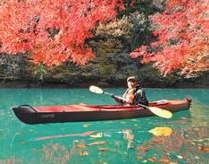 11月13日 四万湖カヌーツアー ぶっさんのイメージ