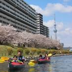 都会で楽しむカヌーツアーのイメージ