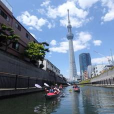 5月3日 都会で楽しむカヌーツアーのイメージ