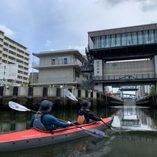 6月26日 東京運河ロングカヌーツアーのイメージ