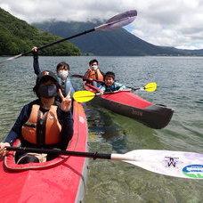 8月3日 中禅寺湖カヌーのイメージ