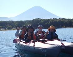 9月23日 本栖湖カヌーツアーのイメージ